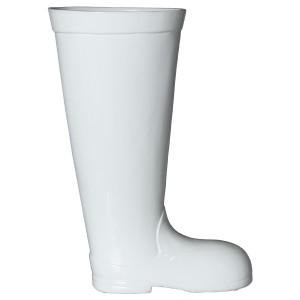 Paragüero cerámica blanco