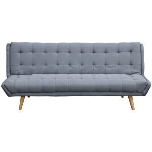 Sofá madera gris