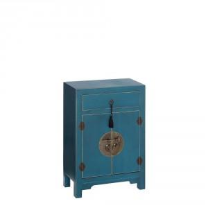 Mesilla madera azul