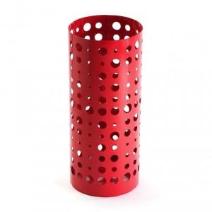 Paragüero metal rojo
