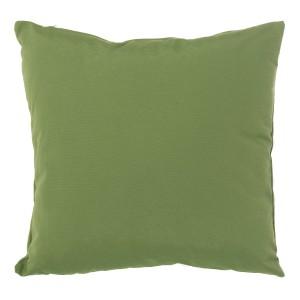 Cojín tela verde