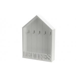 Cuelgallaves casa blanco