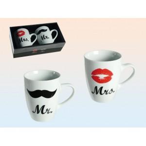 Set tazas MR & MRS
