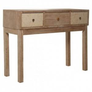 Mesa entrada color madera