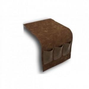 Portamandos lateral sofa Tonos marrones