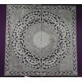 Mandala 4 paneles blanco