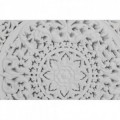 Mandala blanco 40x40 cm