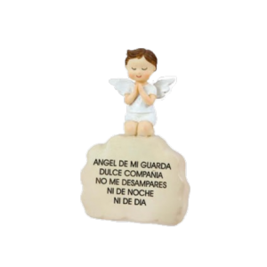 Figura ángel de la guardia