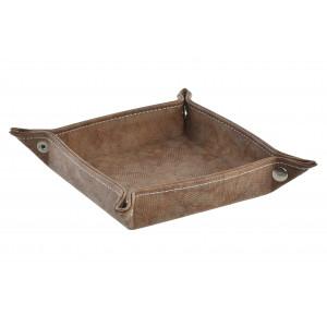 Portamandos polipiel marrón