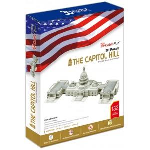 Puzzle en 3D del Capitolio de 132 piezas y dificultad 5/6