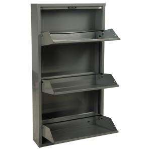 Mueble metal gris
