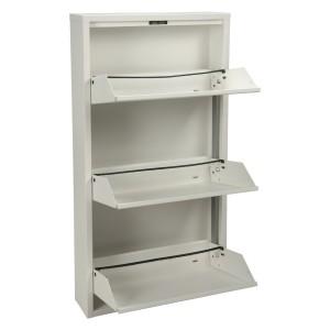 Mueble metal blanco