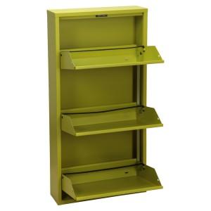 Mueble metal verde