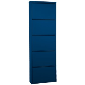 Mueble metal azul