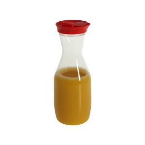 Botella acrilica rojo