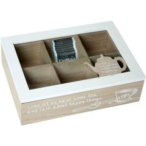 Caja cristal blanco