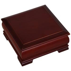 Joyero madera marrón