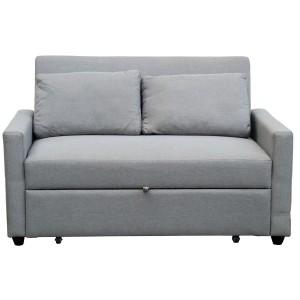 Sofá tela gris